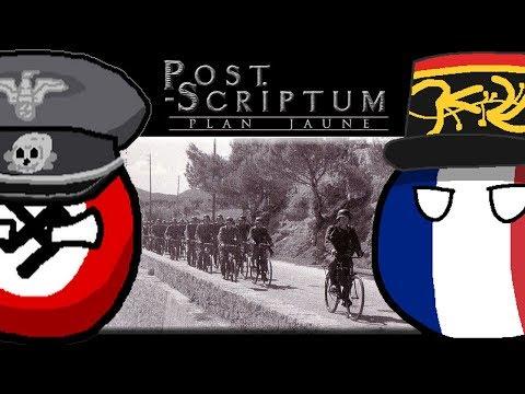 Post Scriptum - Cesta K Tour De France 1940 #2 (mapa Dinant + Wehrmacht 1940)