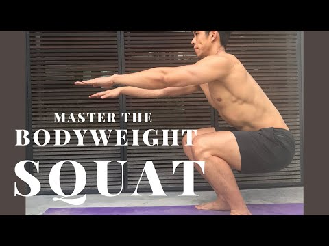 5 Common Errors When You Are Performing a Bodyweight Squat
