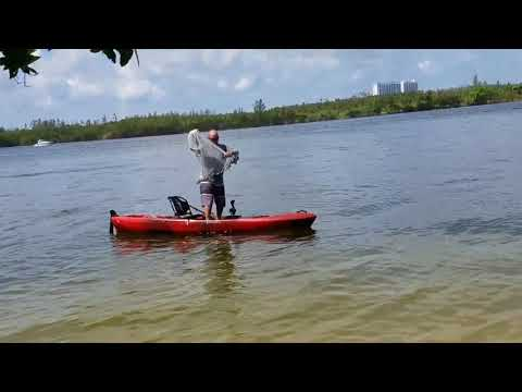 perception pescador pilot 12 maiden voyage and stability test