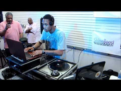 DJ Durel at Sam Ash Music for Mama Luke