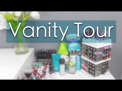 Vanity Tour   Makeup Collection + Storage