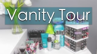Vanity Tour | Makeup Collection + Storage Thumbnail