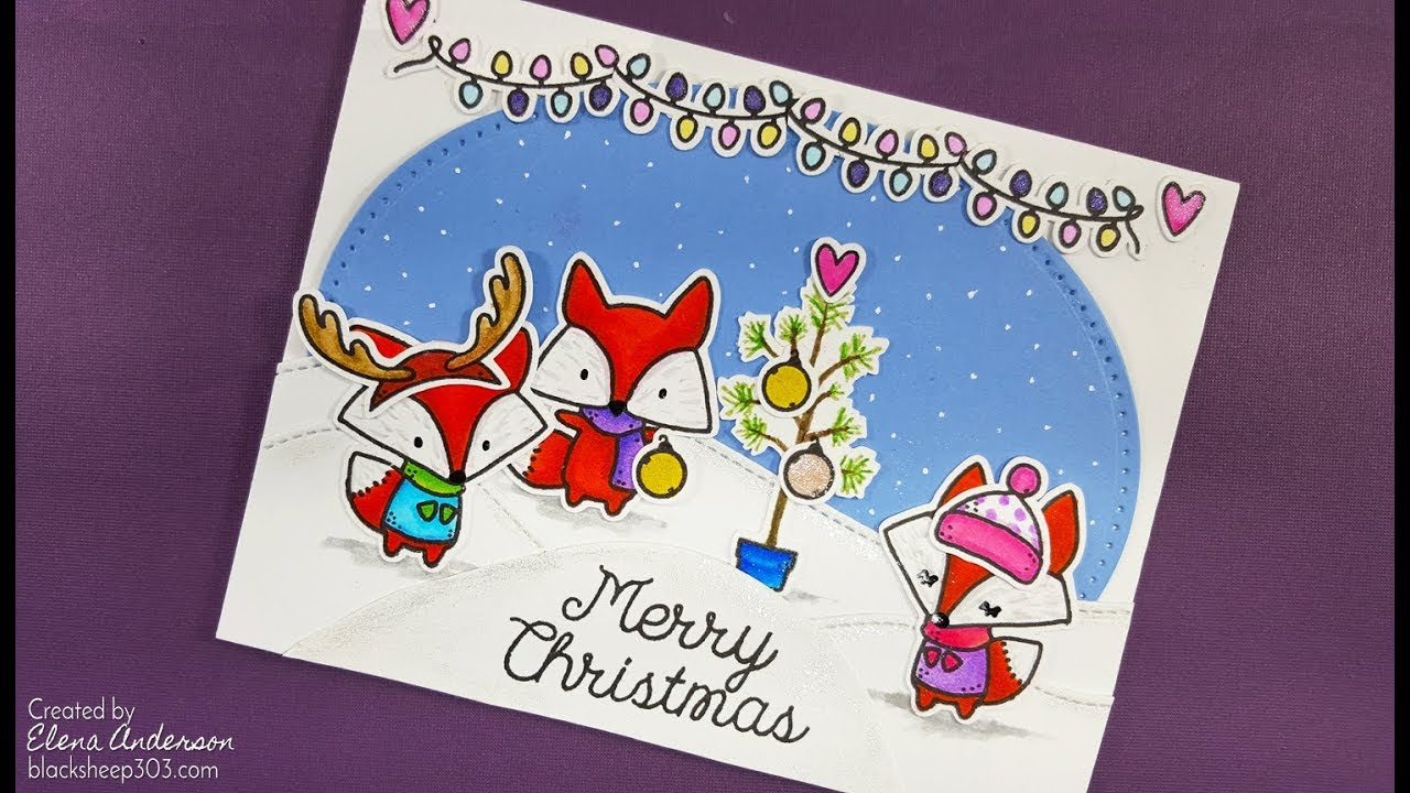Oh What Fun Critter Christmas Card with The Greeting Farm & Zig ...