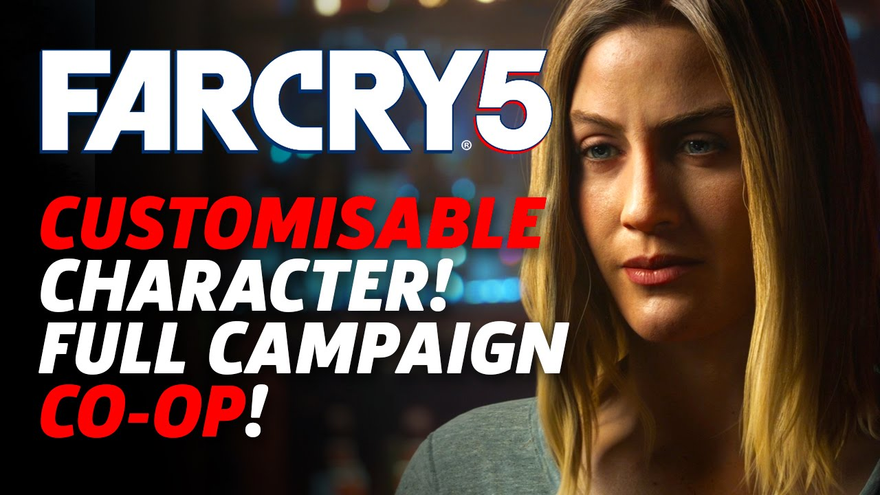 Far Cry 5 Customisable Character Full Campaign Co Op