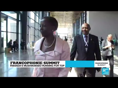 Francophonie summit: Who is Louise Mushikiwabo?