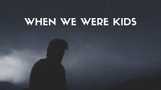 Walking On Cars - When We Were Kids (Lyrics)