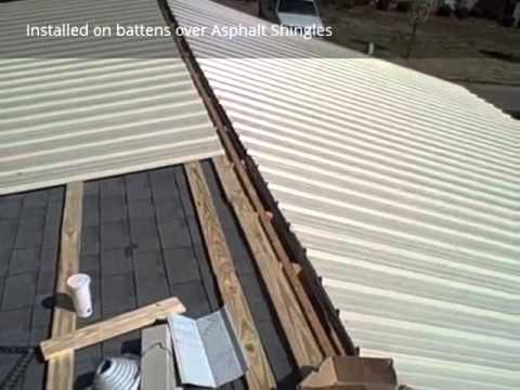 Metal Roofing R Panel Installation By Coolflatroof Com
