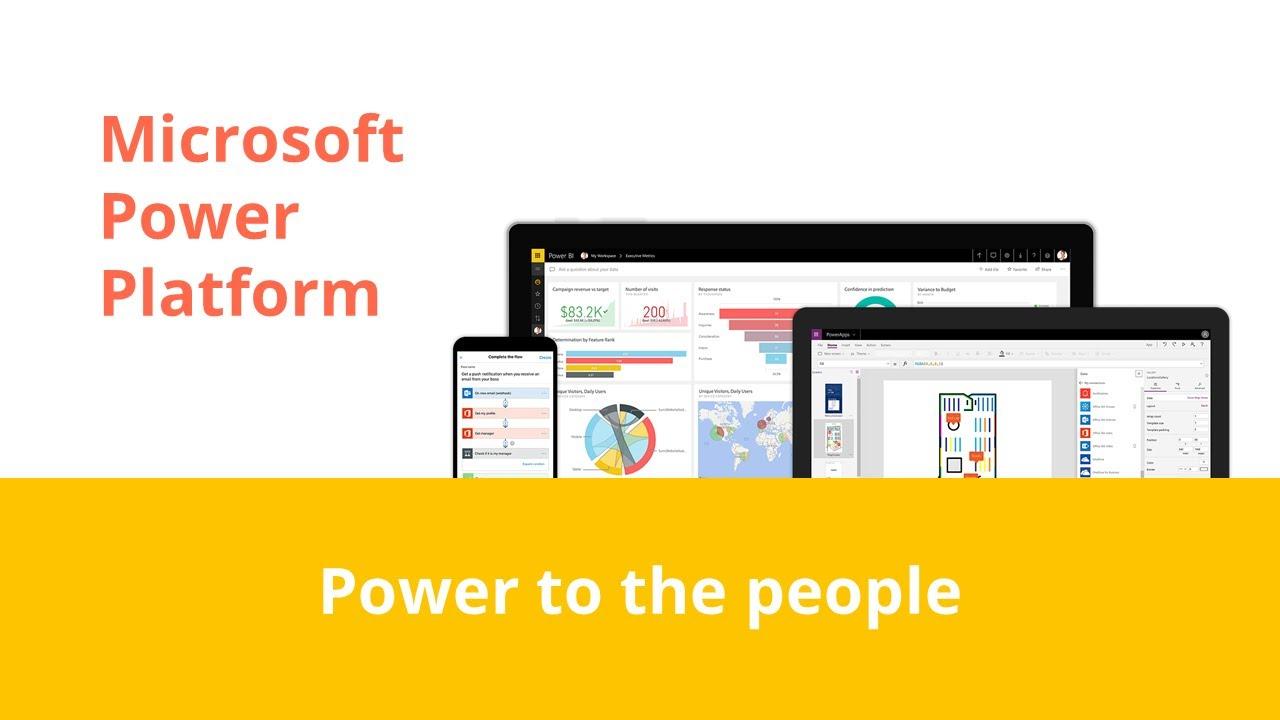 Wat is het Microsoft Power Platform