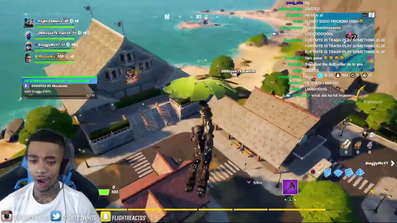 FlightReacts Plays Last Fortnite Game BEFORE PS5 Xbox Series X!
