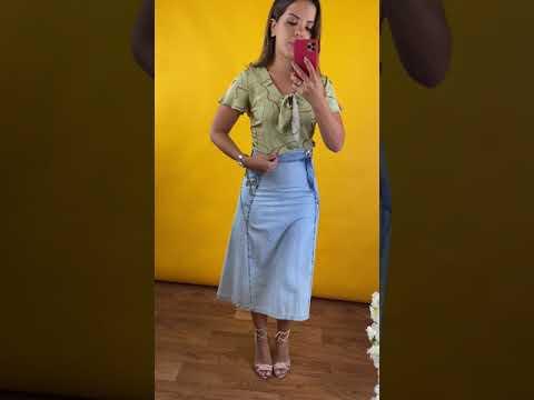Moda Evangélica 2020 - BLUSAS/SAIAS/VESTIDOS - A partir R$ 35,00 from YouTube · Duration:  10 minutes 24 seconds