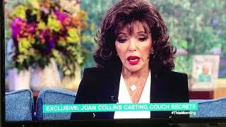 Joan Collins on the latest showbiz scandal
