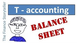 T-accounting tutorial: the balance sheet as a family of t-accounts