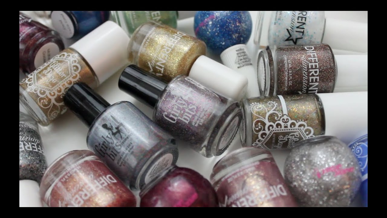 My Favorite Indie Nail Polish Brands! - YouTube