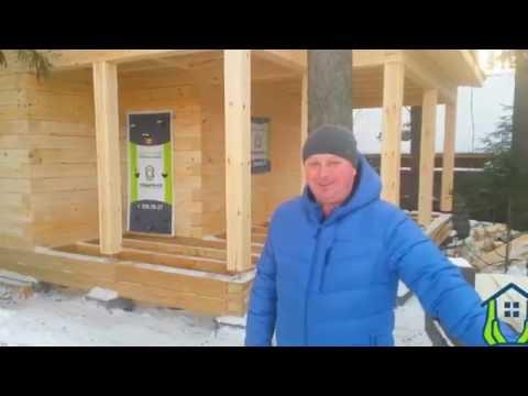 Отзыв о строительстве бани Элита Сибдом СК