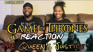 Game of Thrones *The Queen's Justice* S7E3 Reaction!