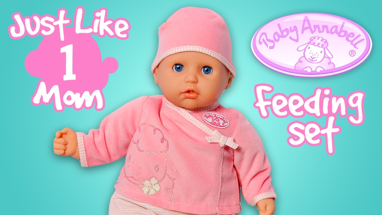 Toys for Girls Baby born Baby Annabell Doll Feeding Set ...