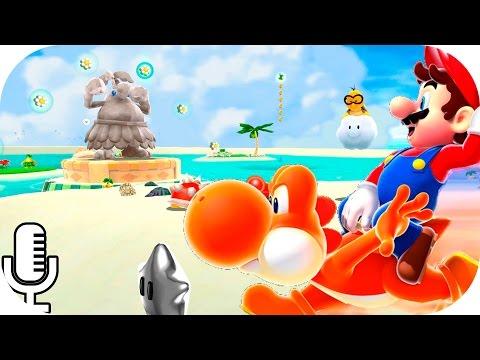 ✪ SUPER MARIO GALAXY 2 ✪   Parte 26: ¡Sol, Playa y ESTRELLAS de PLATA! [FULL HD 60fps]