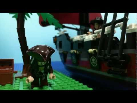 LEGO : PIRATES of the CARIBBEAN - CAPTAIN JACK ~BEGIN~