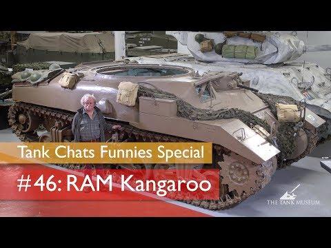 Tank Chats #46 Ram Kangaroo | The Funnies | The Tank Museum
