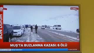 Muş'ta otobüs kazası (6 ölü 29 yaralı) son dakika