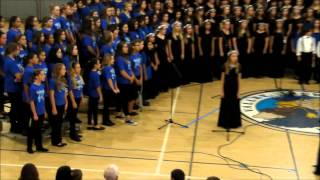 Valley View Choral Music Department Winter Concert Dodi Li