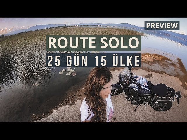 Route Solo Preview | A biker's travel story | XSR 900 | Nesli Avci