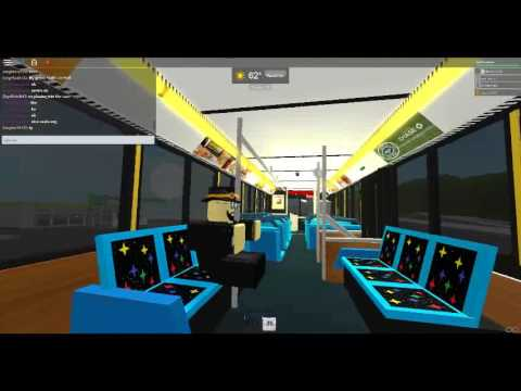 Roblox MTA Maryland bus Ride on the 14