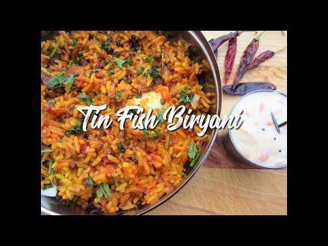 Tin Fish Biryani - EatMee Recipes | 🇶🇺🇦🇳🇹🇮🇹🇮🇪🇸 🇮🇳 🇱🇮🇳🇰 🇧🇪🇱🇴🇼