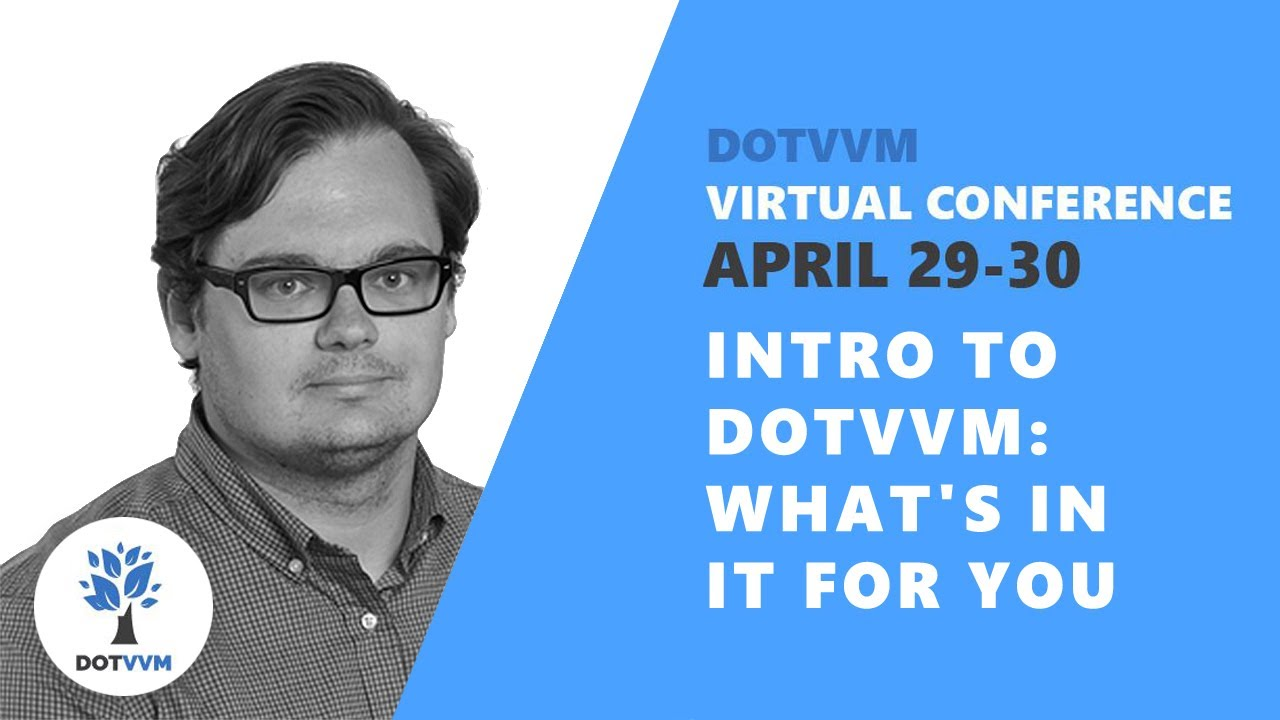 Intro to DotVVM: What's in it for you
