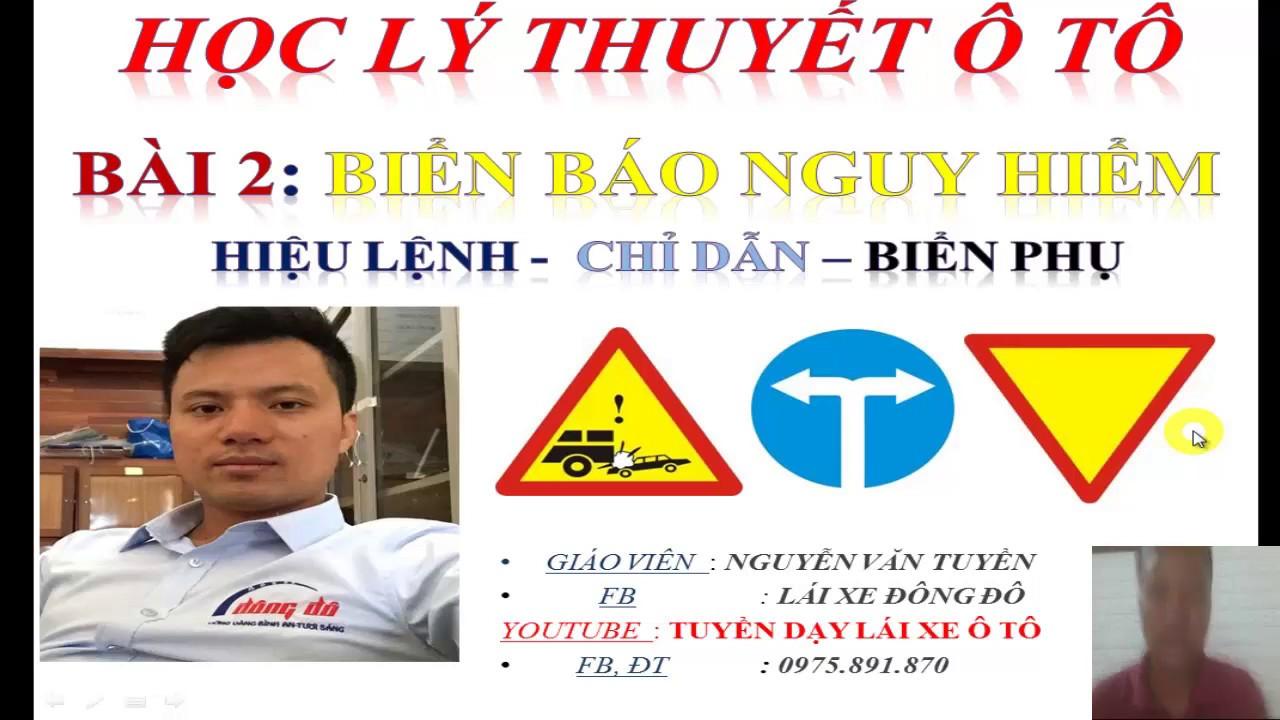 Photo of MẸO HỌC LÝ THUYẾT Ô TÔ B2,C. Biển báo nguy hiểm- biển chỉ dẫn- biển hiệu lệnh- biển phụ