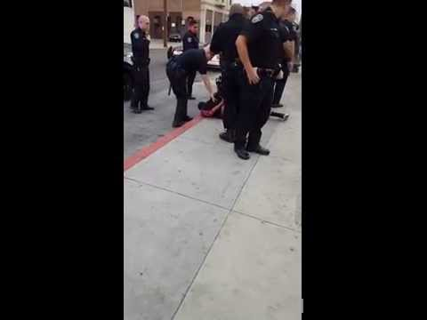 Calif. police under fire over footage of tackled teen