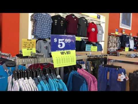 VLOG#27: Цены на одежду в Америке. Магазин FALLAS. Одеваем голого человека с ног до головы!