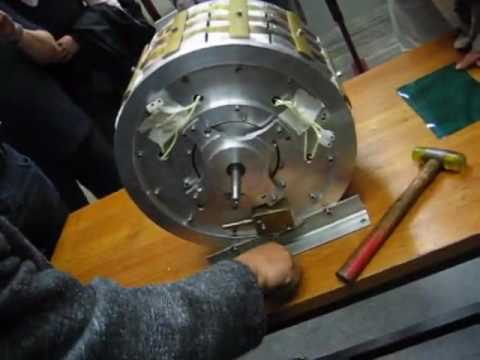 Probably a scam : Muammer Yildiz magnet motor presentation at ...