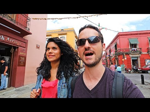 24 Hours In OAXACA CITY ! Mexico's MOST BEAUTIFUL Place ?😱