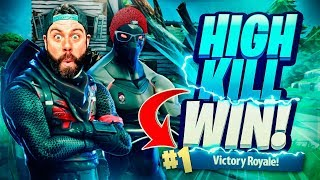 BIG HIGH KILL DUO WIN with TINNY and the new THERMAL SCOPED AR!!! Fortnite: Battle Royale