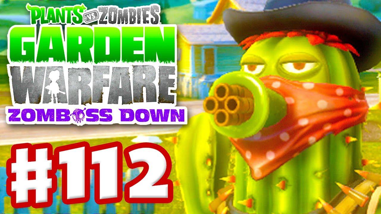 Zombies: Garden Warfare   Gameplay Walkthrough Part 112   Bandit Cactus  (Xbox One)   YouTube