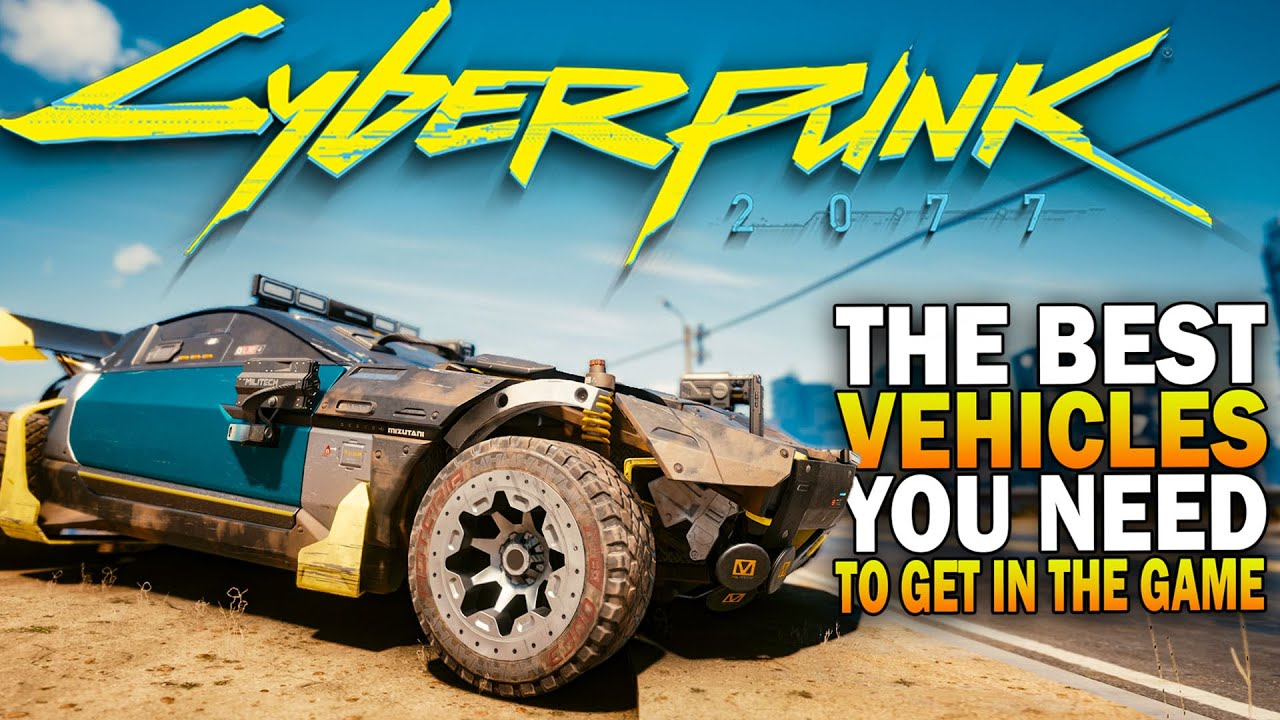 The Top 5 Best Cars You Need To Get In Cyberpunk 2077