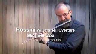 Россини, Увертюра к Вильгельму Теллю, видео урок первой флейты BBC Майкла Кокса