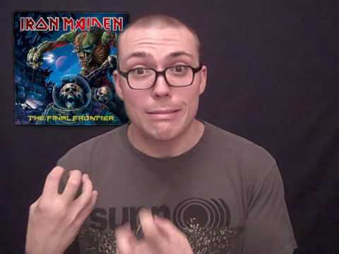 Iron Maiden- The Final Frontier ALBUM REVIEW