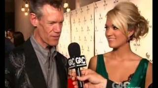 Carrie Underwood/Randy Travis interview