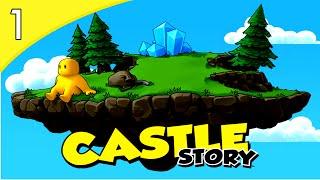Castle Story v0.7.7 - MEU PRIMEIRO CONQUEST! #1 ( GAMEPLAY / PC / PTBR PORTUGUÊS ) HD