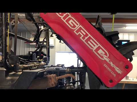 Honda Big Red MUV 700 4x4 Utility FULL SERVICE Engine Motor Oil Filter Differential Air Spark How To