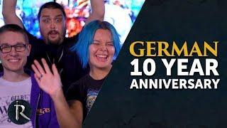 Happy 10th Birthday to our German RuneScape Players!