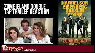Zombieland: Double Tap (Official Trailer) Nadia Sawalha & The Popcorn Junkies REACTION