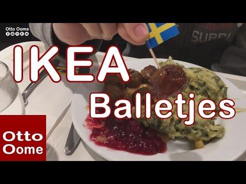 Zweedse gehaktballetjes in de IKEA van Hasselt