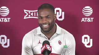 OU Football - DeMarco Murray and Jamar Cain introduced as coaches