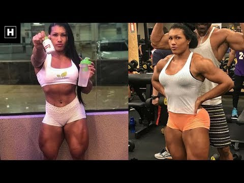 Alessandra Alvez Lima: Exercises To Get Ripped, Lean And Shredded Legs FAST | Workout Motivation