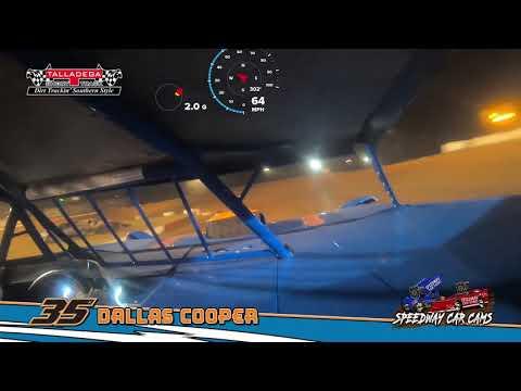 Winner - #35 Dallas Cooper - Super Late Model - 3-23-19 Talladega Short Track - In Car Camera