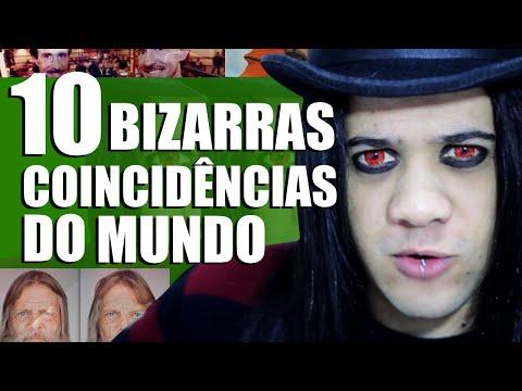 10 COINCIDÊNCIAS BIZARRAS DO MUNDO   MUNDO BIZARRO