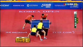 2016 Korea Open (MD-Final) XU Xin/ZHANG Jike -  JEOUNG Youngsik/LEE Sangsu [HD] [Full Match/Chinese]